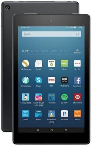 Fire HD 8 - best tablets under $100