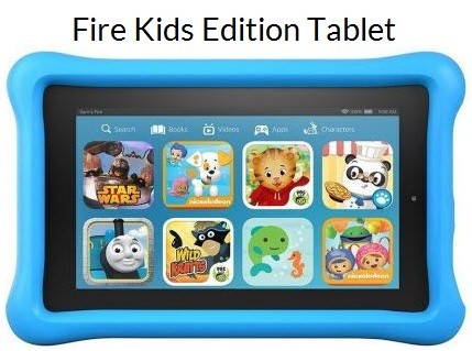 Fire HD Kids Edition - best kids tablet under 100 dollars