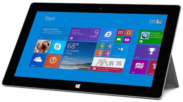 Microsoft Surface 2 - best tablet for businessmen