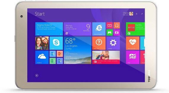 Toshiba Encore 2 - 8 inch windows tablet under 100 dollars