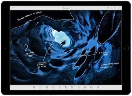 apple ipad pro - best tablets for photoshop