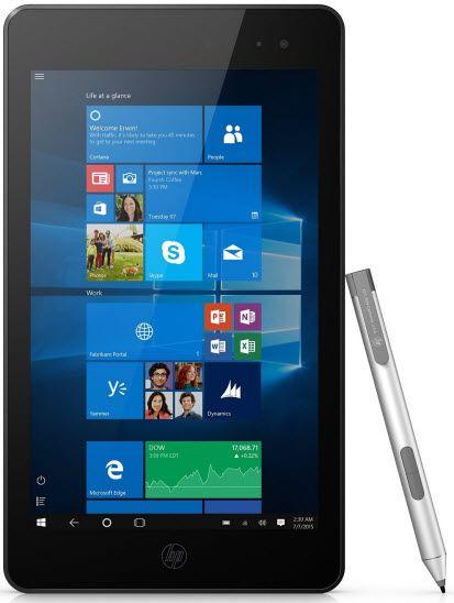 hp envy 8 note - best windows tablet under $400