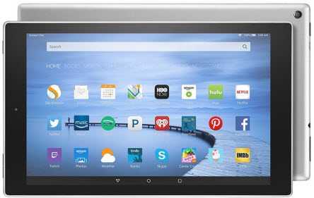 fire hd 10 - best tablets for seniors and elderly