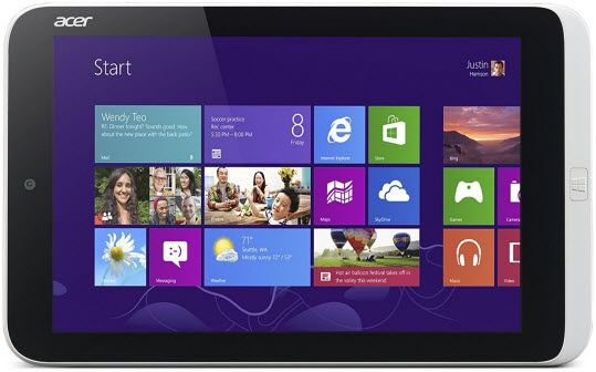 acer iconia windows - best tablets under $150