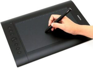 huion h610 pro - best drawing tablets