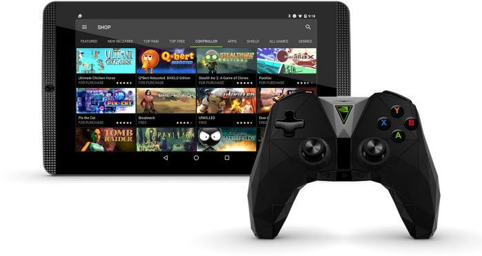 nvidia shield k1 - best 8-inch tablets