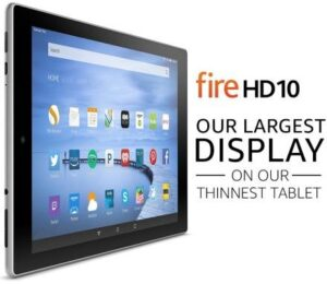 fire hd 10 tablet - best 10-inch tablets