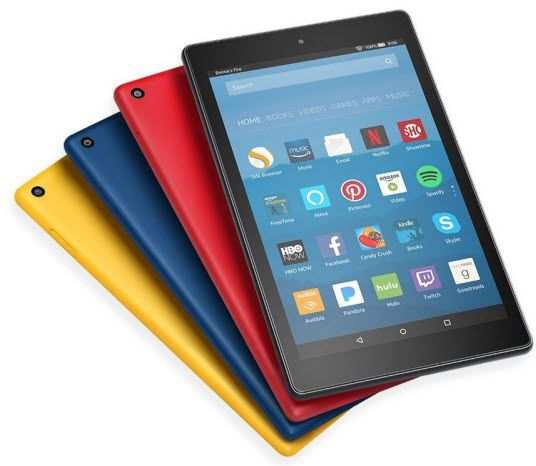 fire hd 8 2017 - best tablets under $200