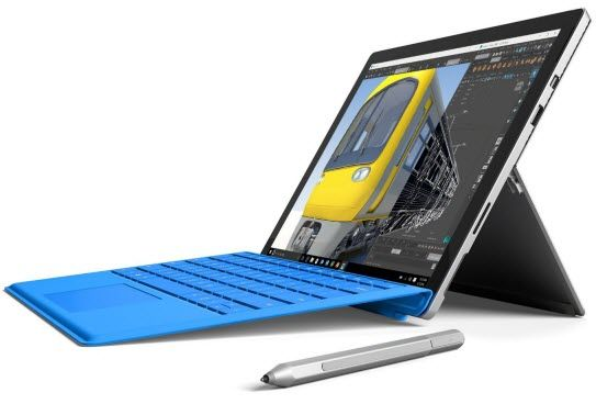microsoft surface pro 4 - best tablets for college students