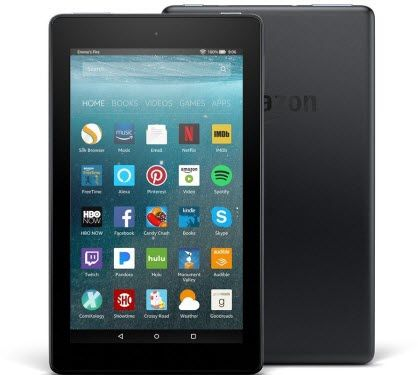 fire 7 - best tablets under $50