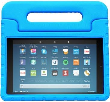 bmouo shock proof kids case fire hd 8 - best cases for fire hd 8