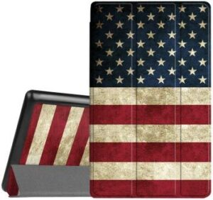 fintie us flag fire hd 8 case