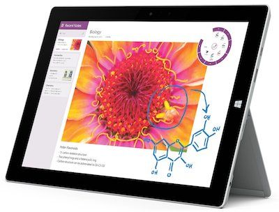 microsoft surface 3 - best tablet under 300