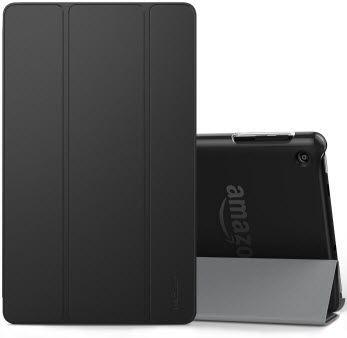 moko transparent smart case fire hd 8 - best cases for fire hd 8
