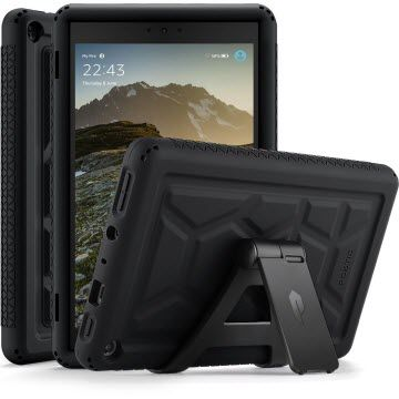 poetic turtle skin rugged case fire hd 8 - best cases for fire hd 8