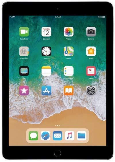 apple ipad 2018 - best tablet under $300