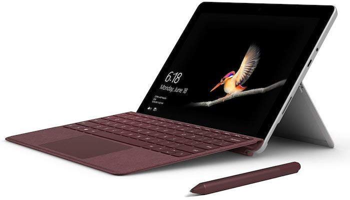 microsoft surface go - best windows gaming tablet