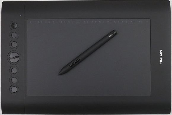 huion h1610-drawing-tablet