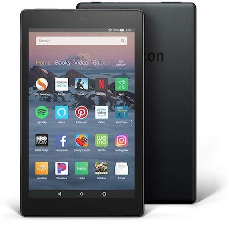 fire hd 8 2018 - best cheap tablet