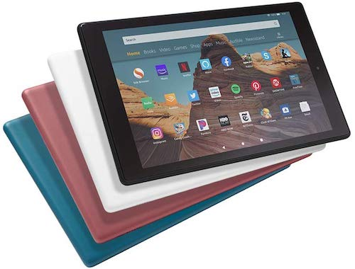 fire hd 10 tablet for teaching purpose
